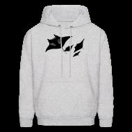 Hoodies ~ Men's Hoodie ~ animal t-shirt manta ray scuba diver diving dive fish sting ray