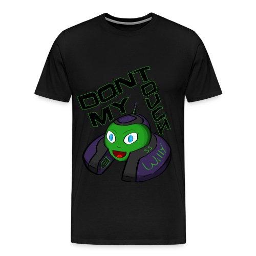 Don't Touch My Willy - Men's Premium T-Shirt