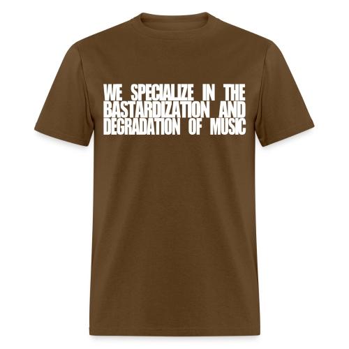 SUBPAR DEGRADATION BROWN - Men's T-Shirt