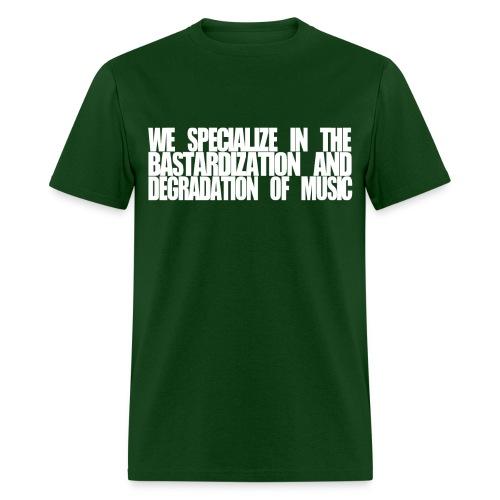 SUBPAR DEGRADATION GREEN - Men's T-Shirt