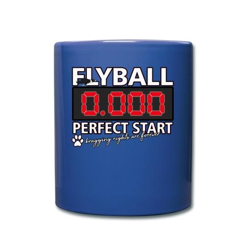 flyball perfect start mug - Full Color Mug