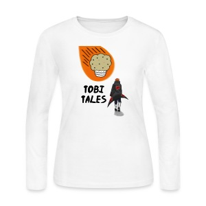 Tobi's Tales Women's Long Sleeve Jersey Tee - Women's Long Sleeve Jersey T-Shirt