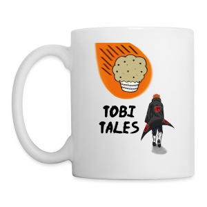 Tobi's Tales Left Handed Coffee Cup - Coffee/Tea Mug