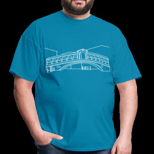 Rialto Bridge Venice - Men's T-Shirt