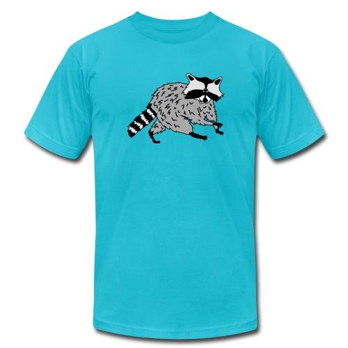 animal t-shirt raccoon racoon coon bear - Men's  Jersey T-Shirt