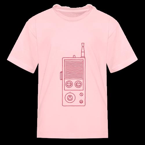 Walkie-Talkie Radio - Kids' T-Shirt