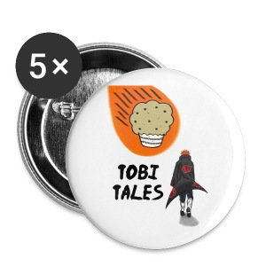 Tobi's Tales Button 1 - Small Buttons