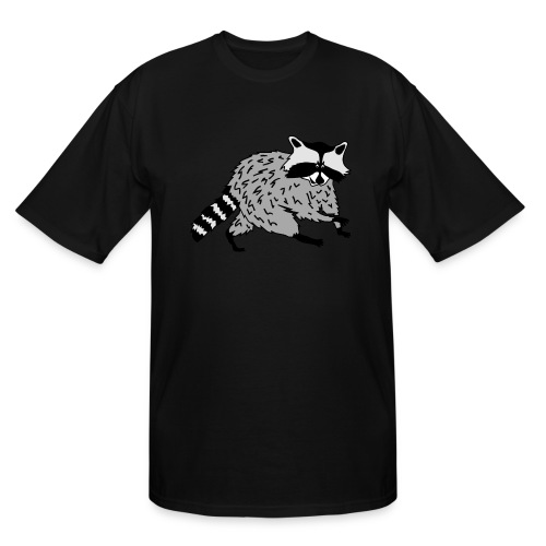 animal t-shirt raccoon racoon coon bear - Men's Tall T-Shirt