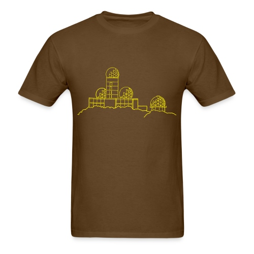 Listening station on Teufelsberg - Men's T-Shirt
