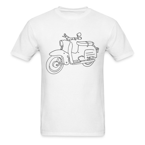 Scooter Swallow - Men's T-Shirt