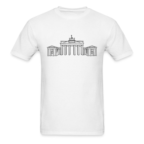 Brandenburg Gate in Berlin - Men's T-Shirt
