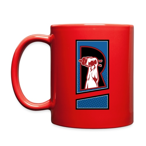 Review Spot Original Logo Red Mug - Full Color Mug