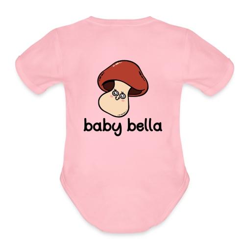 Baby Bella - Organic Short Sleeve Baby Bodysuit