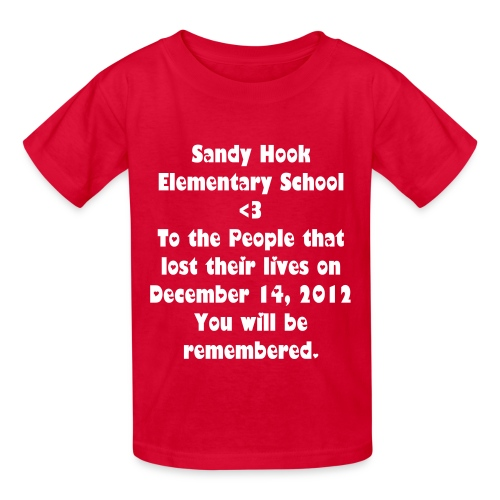 Sandy Hook Elementary (Kids) - Kids' T-Shirt