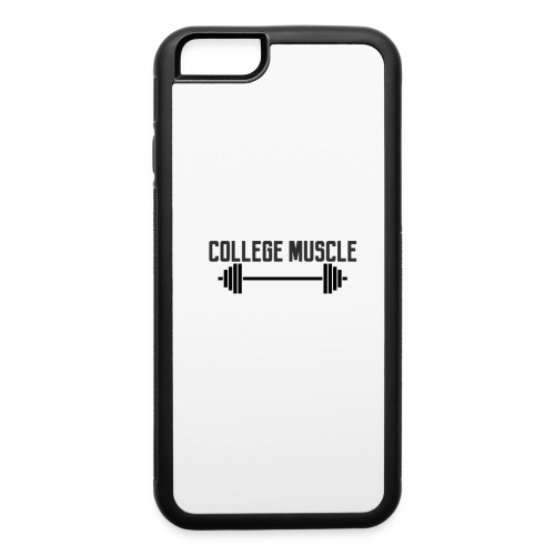 College Muscle iPhone 6/6s Rubber Case - iPhone 6/6s Rubber Case