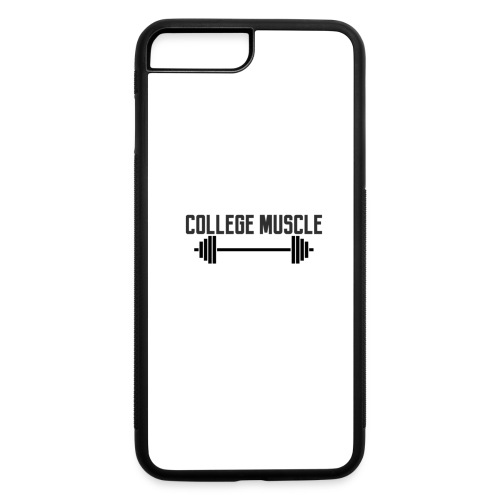 College Muscle iPhone 7 Plus/8 Rubber Case - iPhone 7 Plus/8 Plus Rubber Case