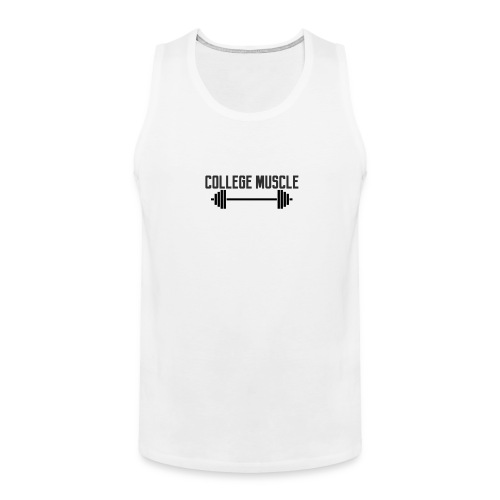 College Muscle Tank - Men's Premium Tank