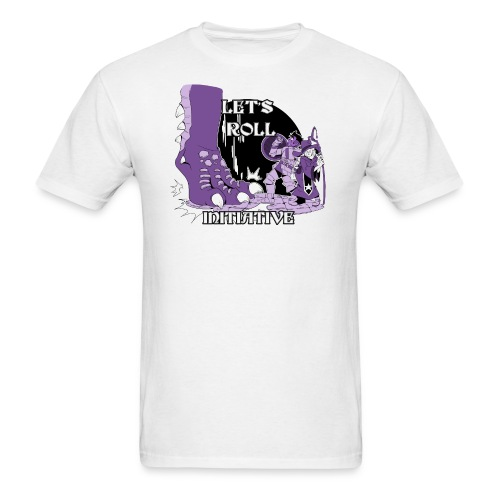 G.C.U.N. 2018 men's shirt purple design - Men's T-Shirt