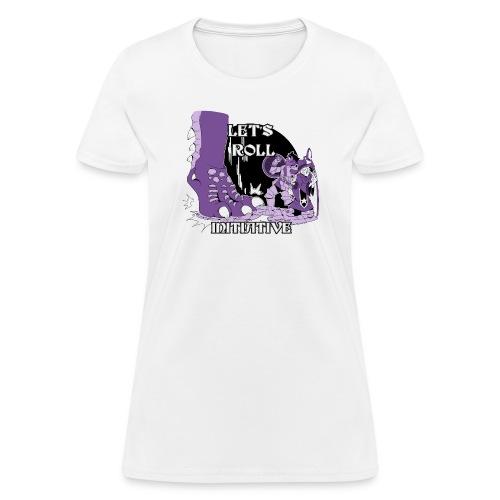 G.C.U.N. 2018 women's shirt purple design - Women's T-Shirt