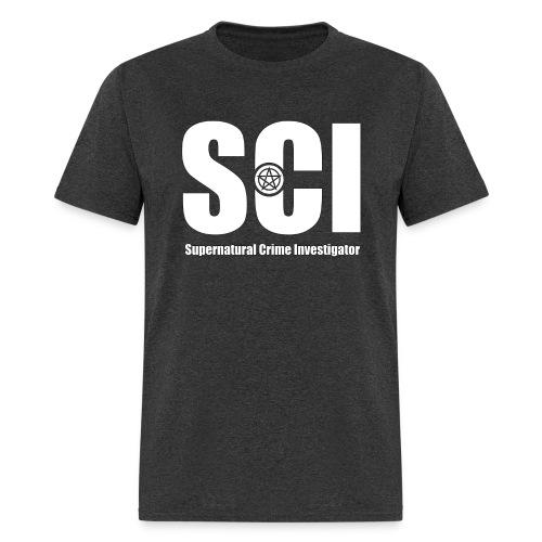 Supernatural Crime Investigator   Male Tee Shirt - Men's T-Shirt