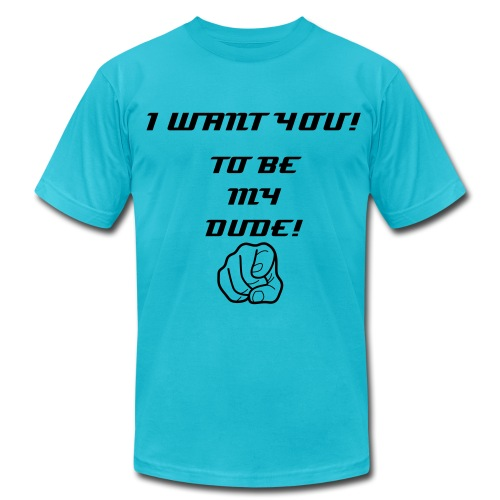 I WANT YOU - Men's Fine Jersey T-Shirt