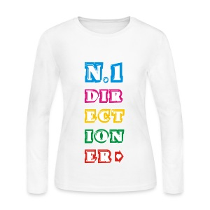 Directioner - Women's Long Sleeve Jersey T-Shirt