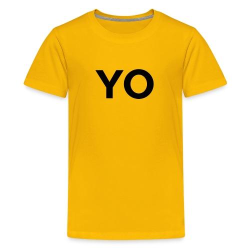 YO Shirt - Youth - Kids' Premium T-Shirt