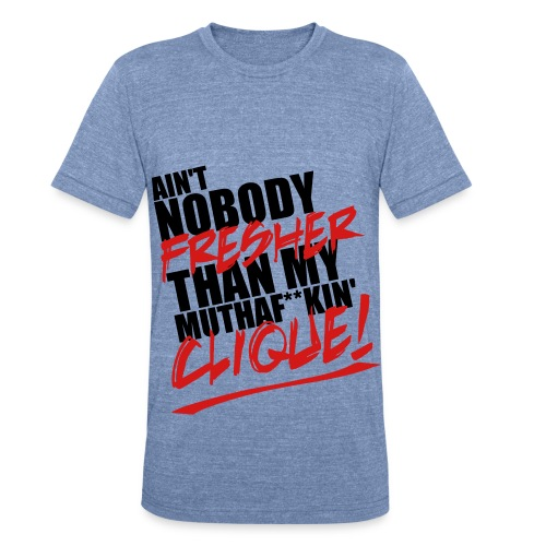 DKC Clique T-Shirt - Unisex Tri-Blend T-Shirt
