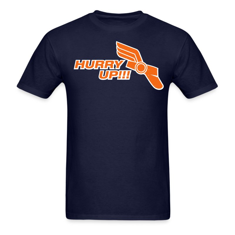 hurryupfinal - Men's T-Shirt