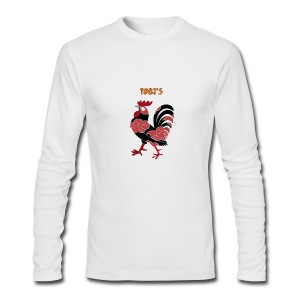 Tobi's Cock Men's Long Sleeve Tee - Men's Long Sleeve T-Shirt by Next Level