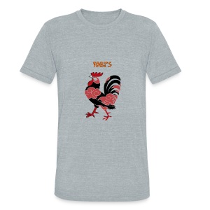 Tobi's Cock Men's Vintage Tee - Unisex Tri-Blend T-Shirt by American Apparel