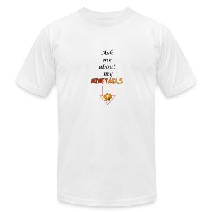 My Ninetails Men's Tee - Men's T-Shirt by American Apparel