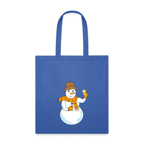 Snowman Geocacher - Tote Bag