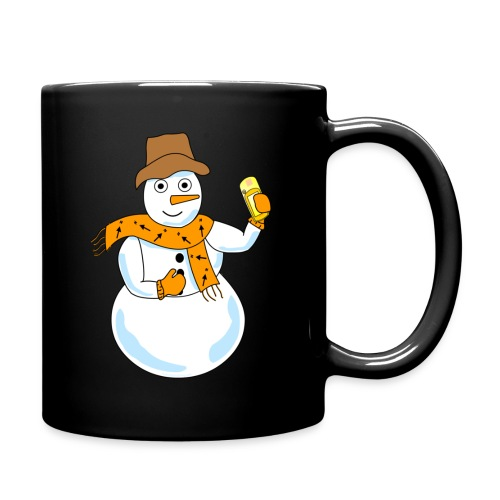 Snowman Geocacher - Full Color Mug