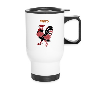 Tobi's Cock Right Handed Travel Mug - Travel Mug