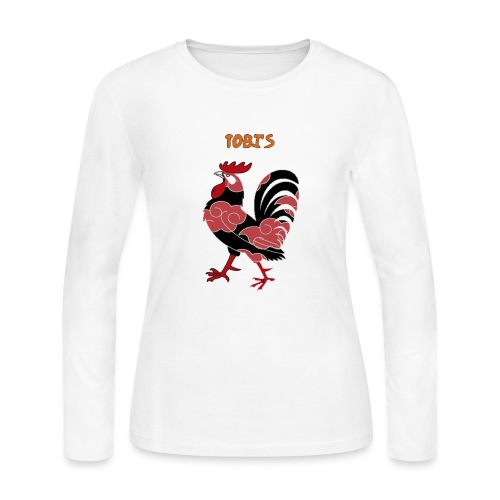 Tobi's Cock Women's Long Sleeve Jersey Tee - Women's Long Sleeve Jersey T-Shirt