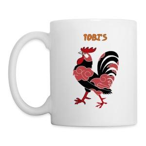 Tobi's Cock Left Handed Coffee Cup - Coffee/Tea Mug