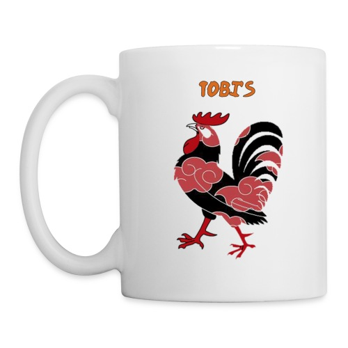 Tobi's Cock Left Handed Coffee Cup - Coffee/Tea Mug