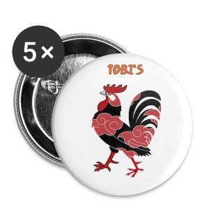 Tobi's Cock Button 1 - Small Buttons
