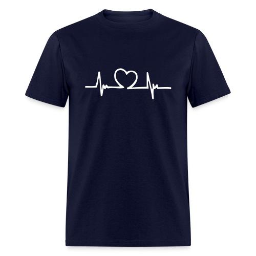 Love on the beat - Men's T-Shirt