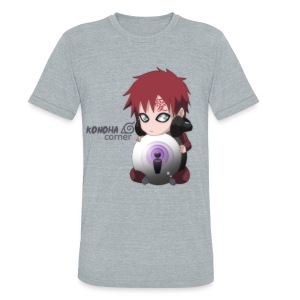 Chibi Gaara Men's Vintage Tee - Unisex Tri-Blend T-Shirt by American Apparel