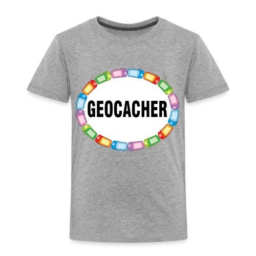 GPS Geocacher Oval - Toddler Premium T-Shirt