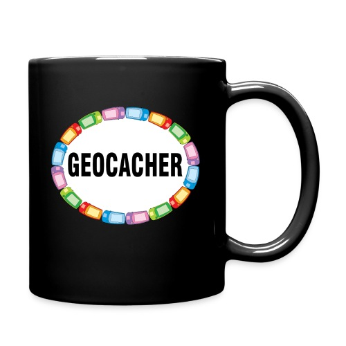 GPS Geocacher Oval - Full Color Mug