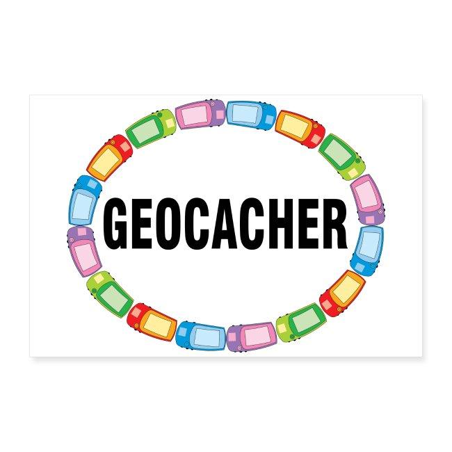GPS Geocacher Oval