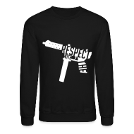 Long Sleeve Shirts ~ Crewneck Sweatshirt ~ Respect With The Tec Sweatshirt