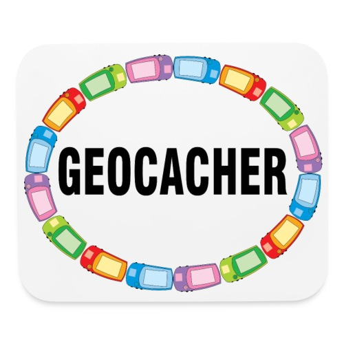 GPS Geocacher Oval - Mouse pad Horizontal