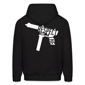 Respect With The Tec - Men's Hoodie