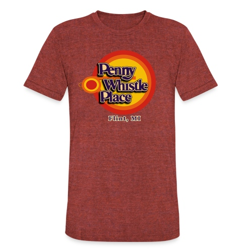 Penny Whistle Place - Unisex Tri-Blend T-Shirt
