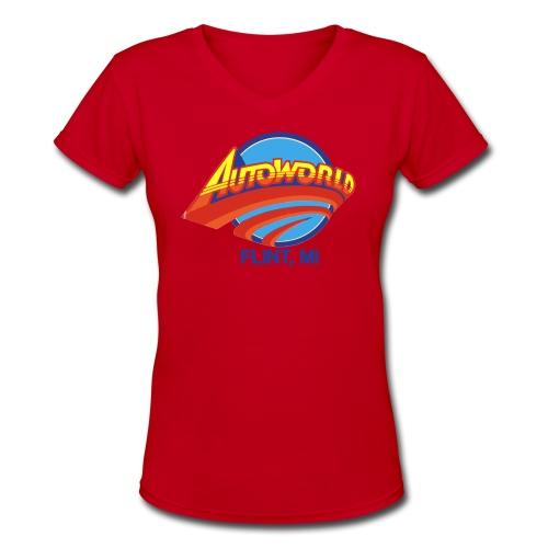 Autoworld - Women's V-Neck T-Shirt