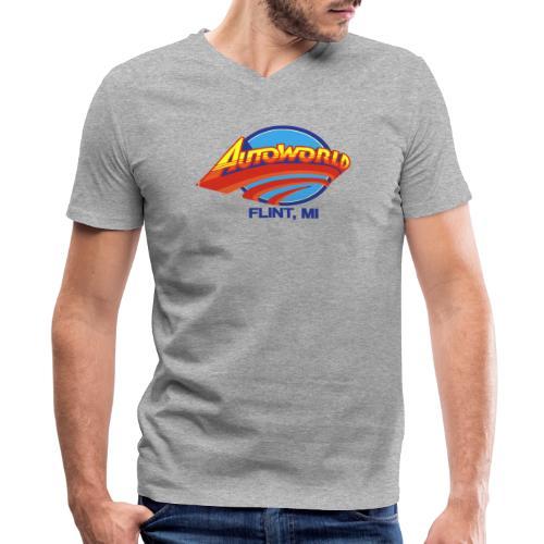 Autoworld - Men's V-Neck T-Shirt by Canvas